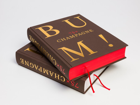 Knihy z naší poličky - BUM! 75x Champagne