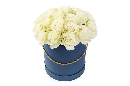 Белые розы (25 шт.)