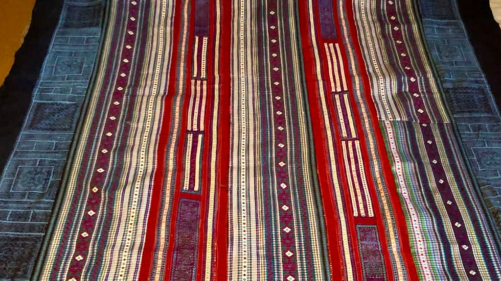 Hand embroidered Hmong Blanket