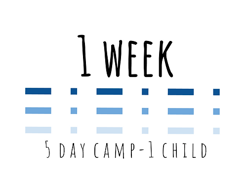 5 Day Program (1 Child)