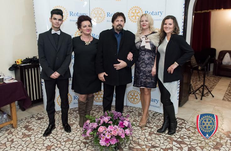 Brasov, Romania Rotary Club Event