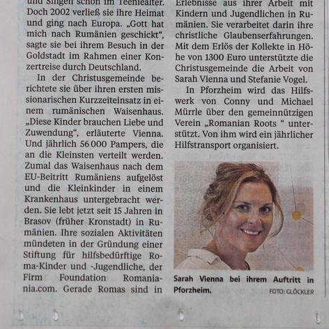 German News Article