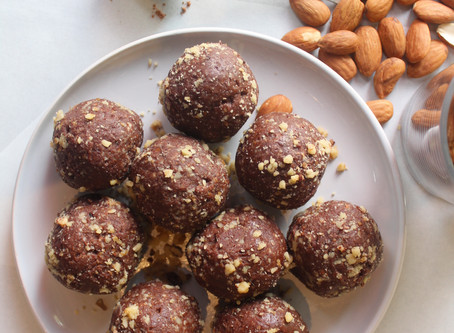 Choc brownie bliss balls