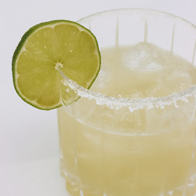 Margarita/ Patron Tequila, Cointreau, Lime Juice + Honey