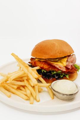 Fried Chicken Burger (Gone Wild)