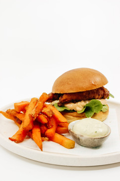 Fried Chicken Burger