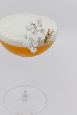 Passionfruit & White Chocolate Martini
