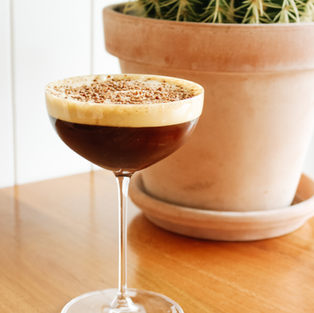Espresso Martini / Ratu Spiced Rum, Mr Blacks Coffee Liqueur, Allpress Espresso
