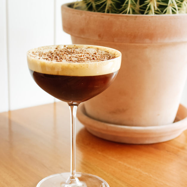 Espresso Martini / Ratu Spiced Rum, Mr Blacks Coffee Liqueur, Allpress Espresso