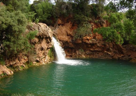Cascade à Tavira