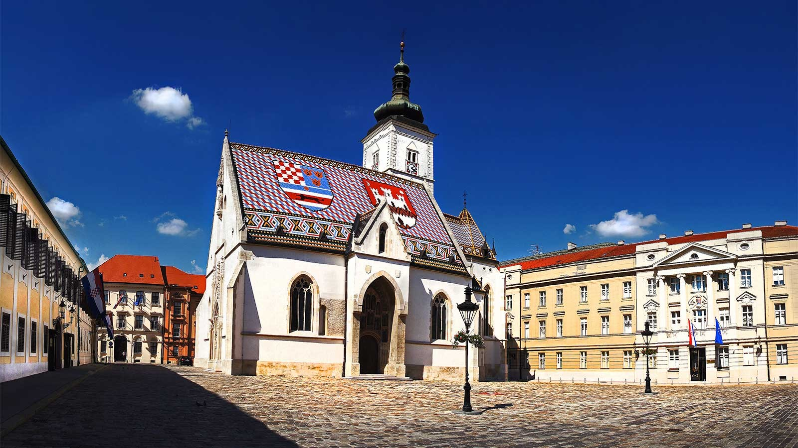 Eglise Saint Marc Zagreb