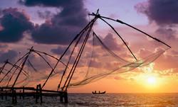 Port de pêche de Cochin