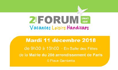 2ème Forum Vacances Loisirs Handicap