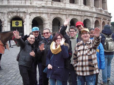 Séjour adapté à Rome, hiver 2017