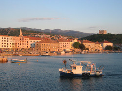 Senj au bord de l'Adriatique