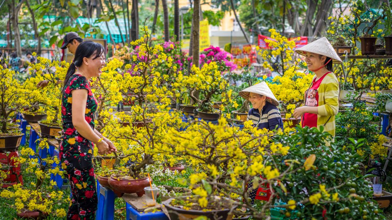 Marché d'Hanoi