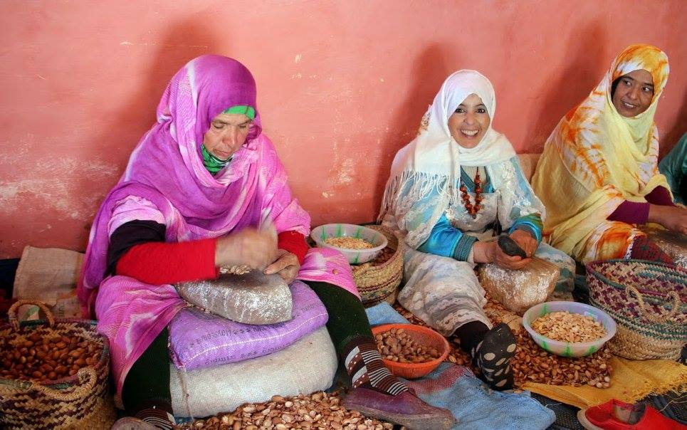 Coopérative féminine d'huile d'argan