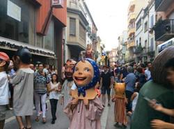 Fête traditionnelle catalane