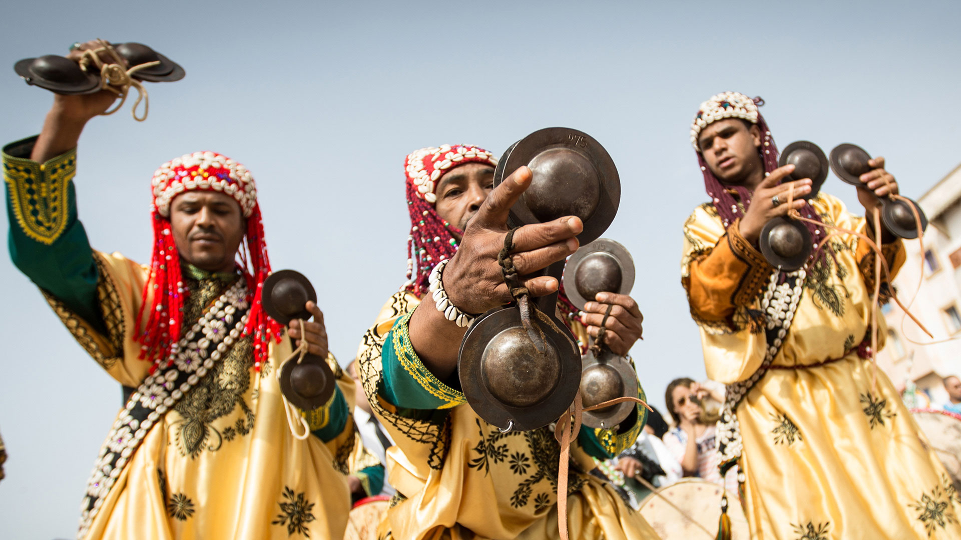 Les musiciens gnawa d'Essaouira
