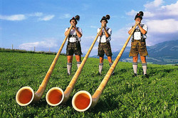 Les chants tyroliens