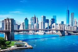 Manhattan et le Pont de Brooklyn