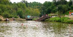 Lac au nord de Sibiu