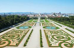 Jardins du Palais du Belvedere