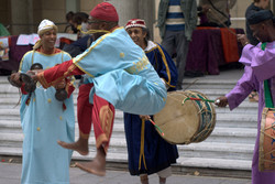 Danseurs et musiciens Gnawa