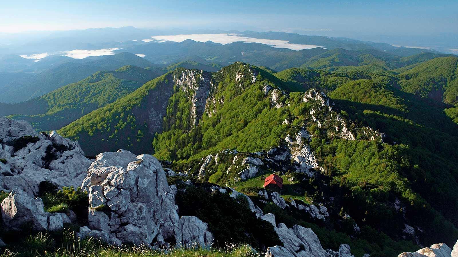 Les montagnes Gorski Kotar