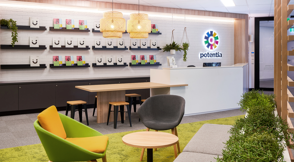 Potentia Tutoring interior Design