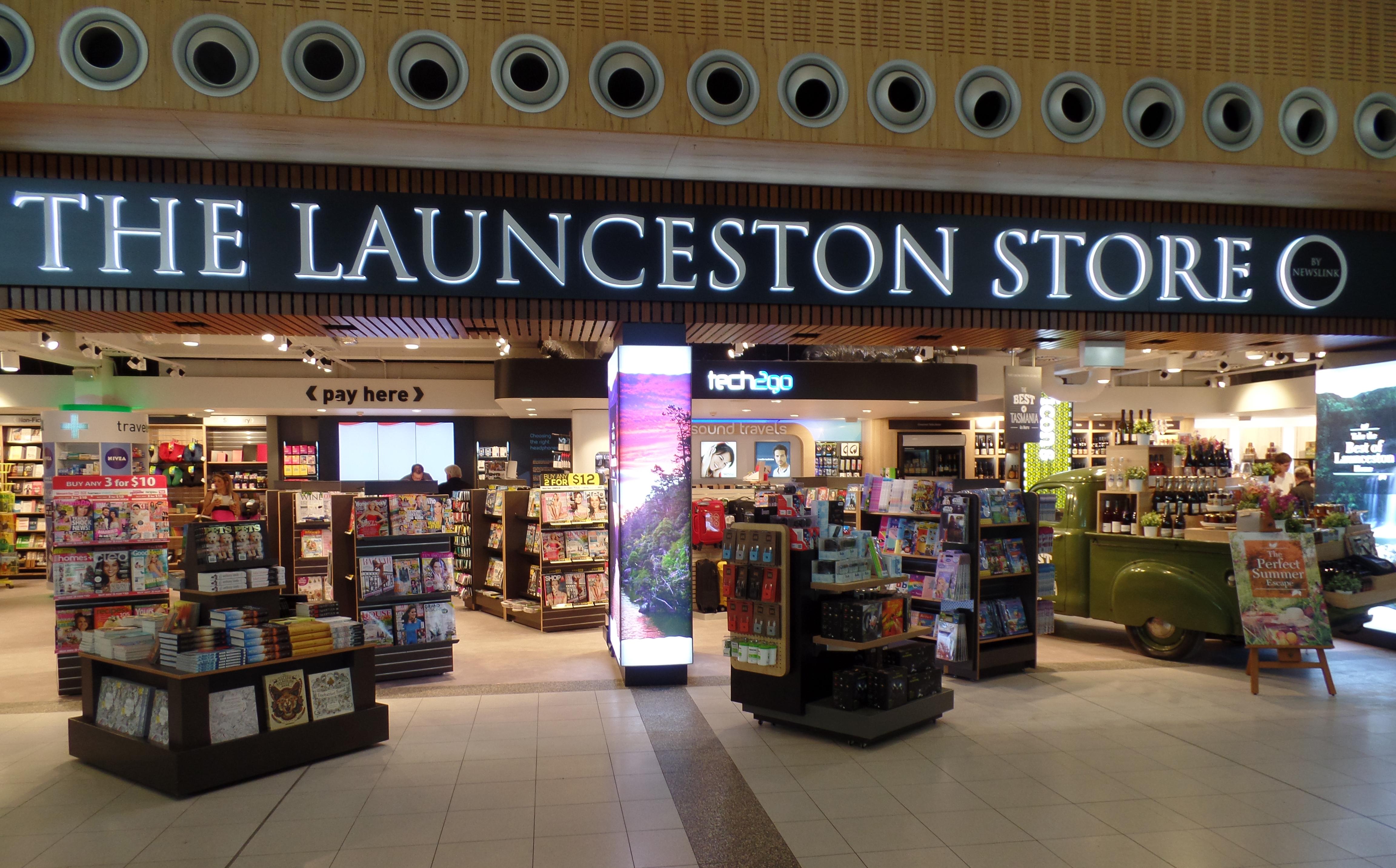 The Launceston Store Dovetail Design