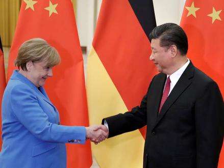 Angela Merkelová: nejbližší spojenec Pekingu