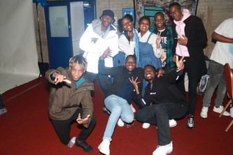 Sheffield crew representing