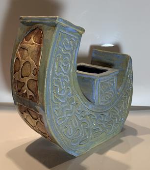 Organic Crescent Vase