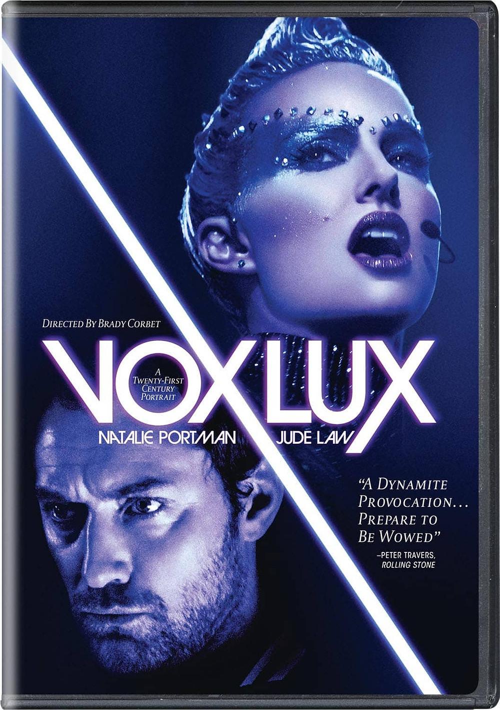 recenzie de film Vox Lux, Natalie Portman, Jude Law
