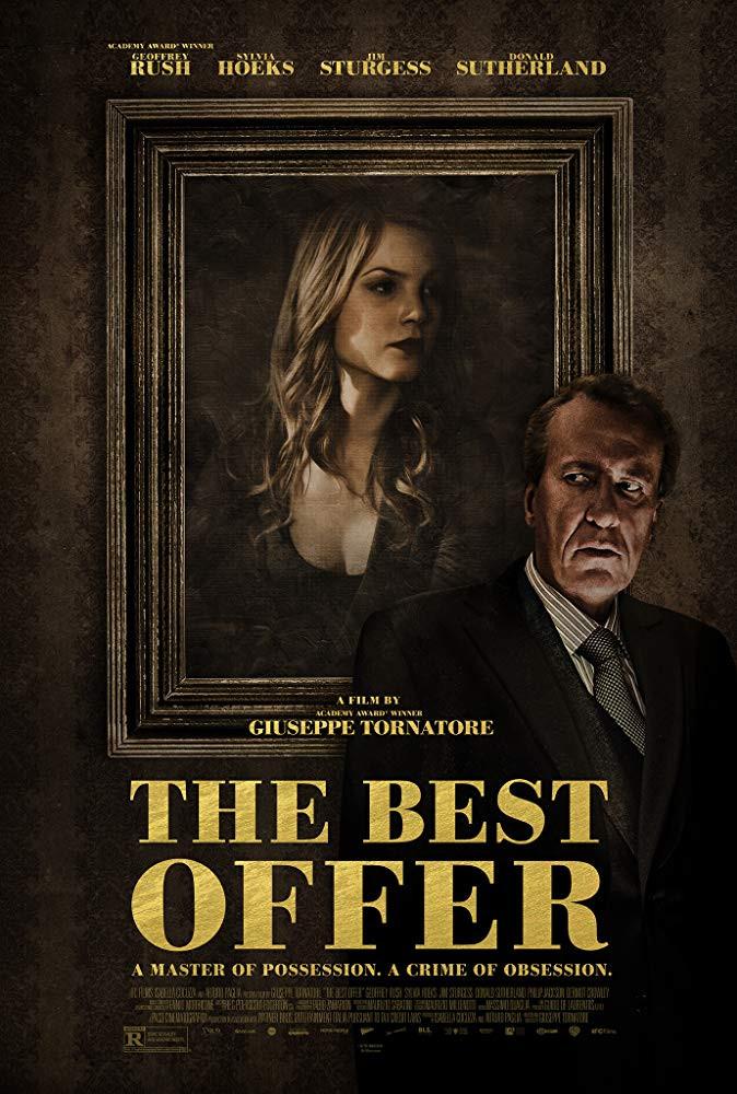recenzie film The Best Offer Geoffrey Rush