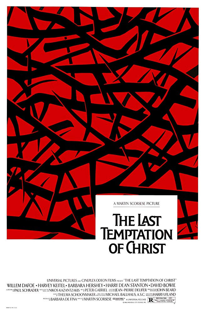 recenzie film The Last Temptation of Christ Scorsese