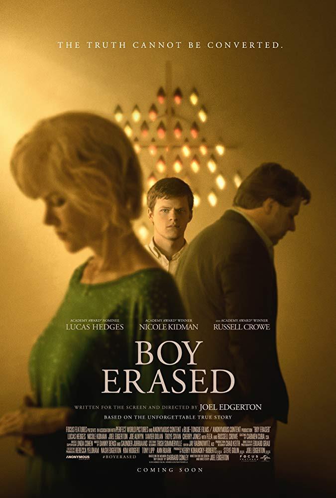 Recenzie de film Boy Erased Joel Edgerton