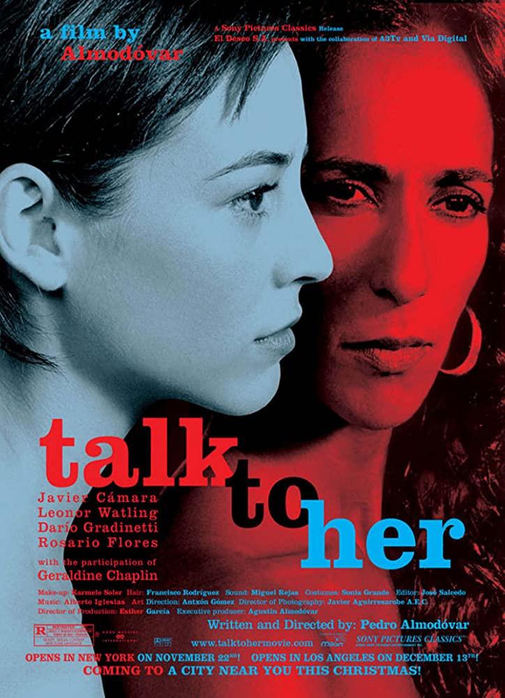 recenzie film talk to her, habla con ella, Pedro Almodovar