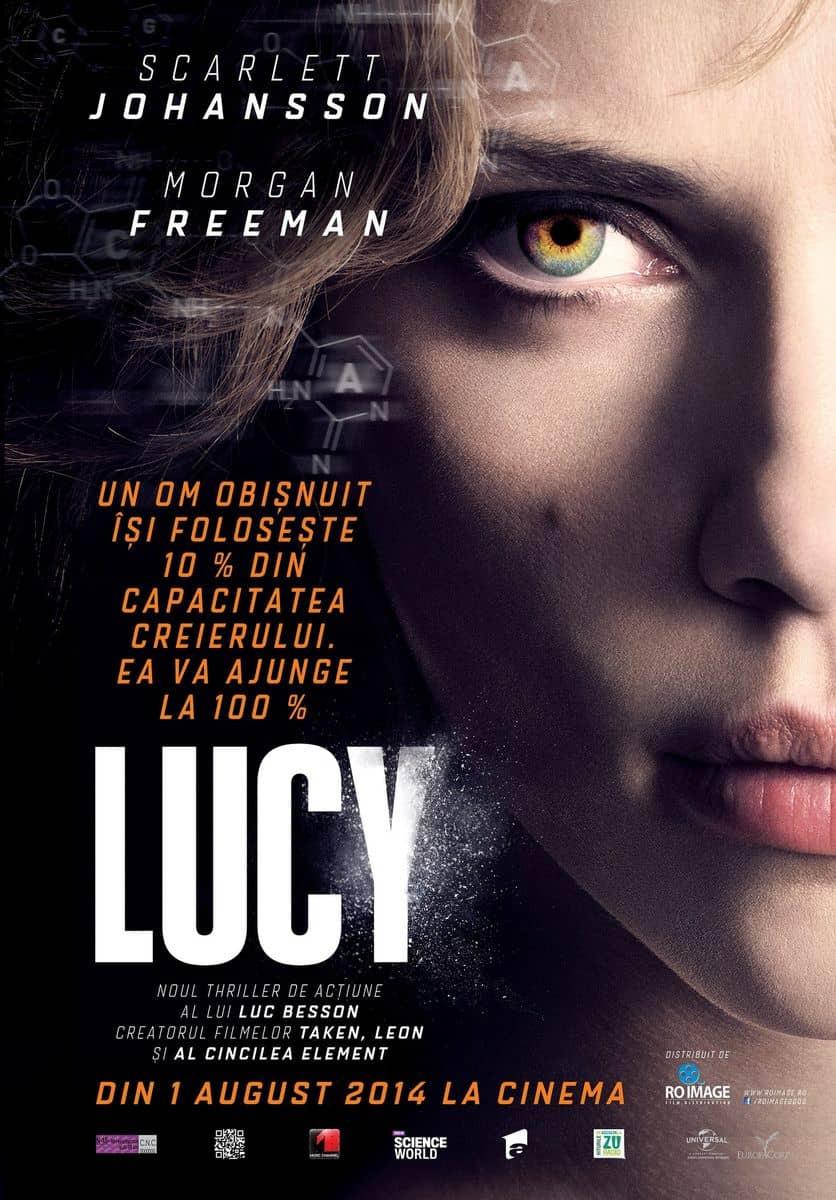 recenzie de film Lucy, Luc Besson