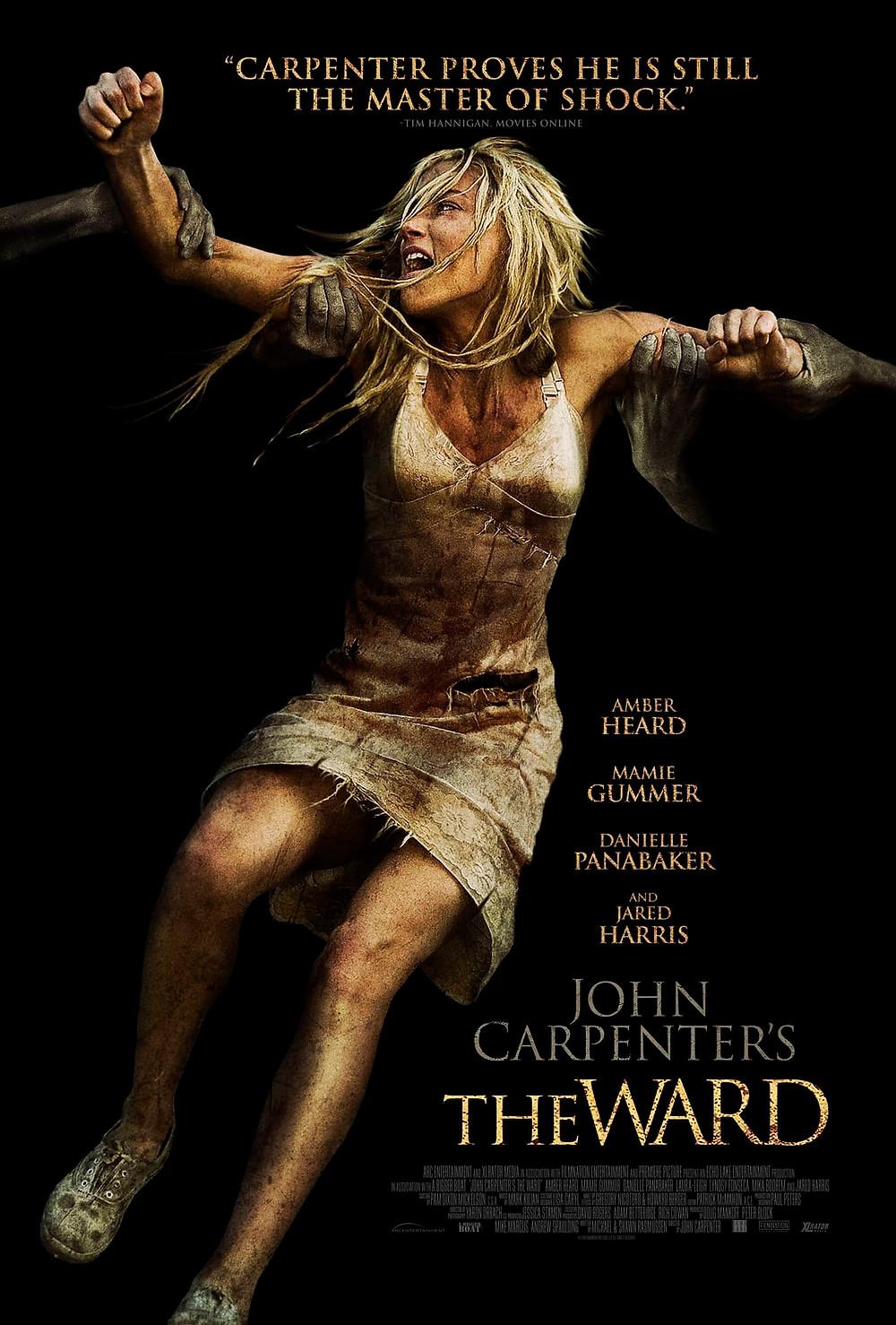 recenzie de film The Ward, John Carpenter
