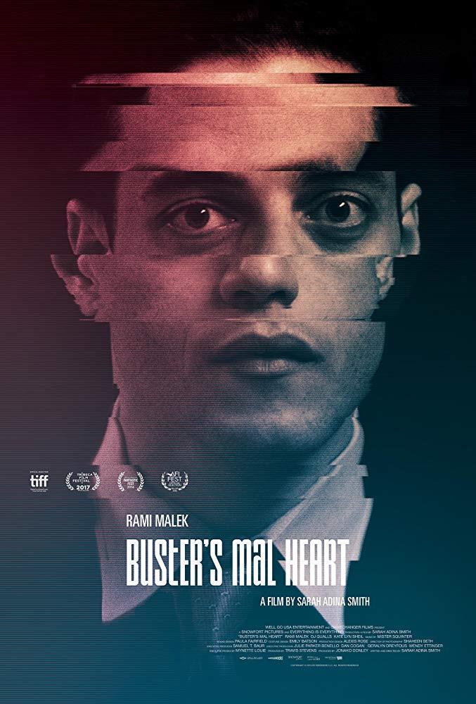 recenzie film Buster's Mal Heart, Rami Malek
