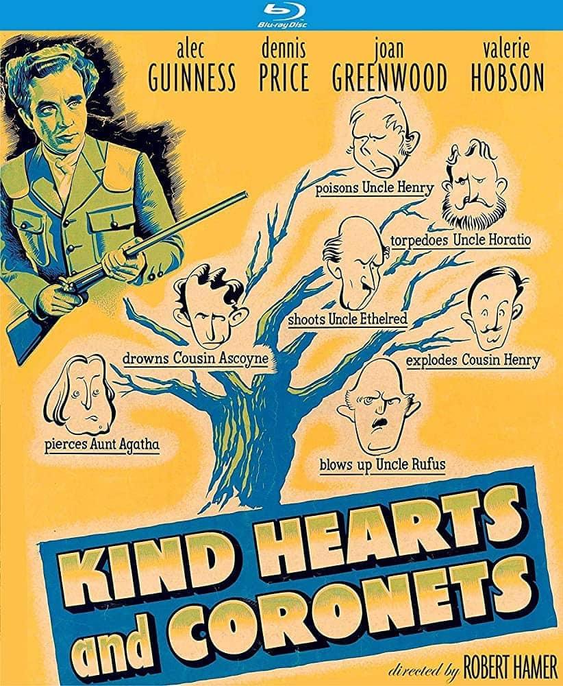 recenzie film Kind Hearts and Coronets