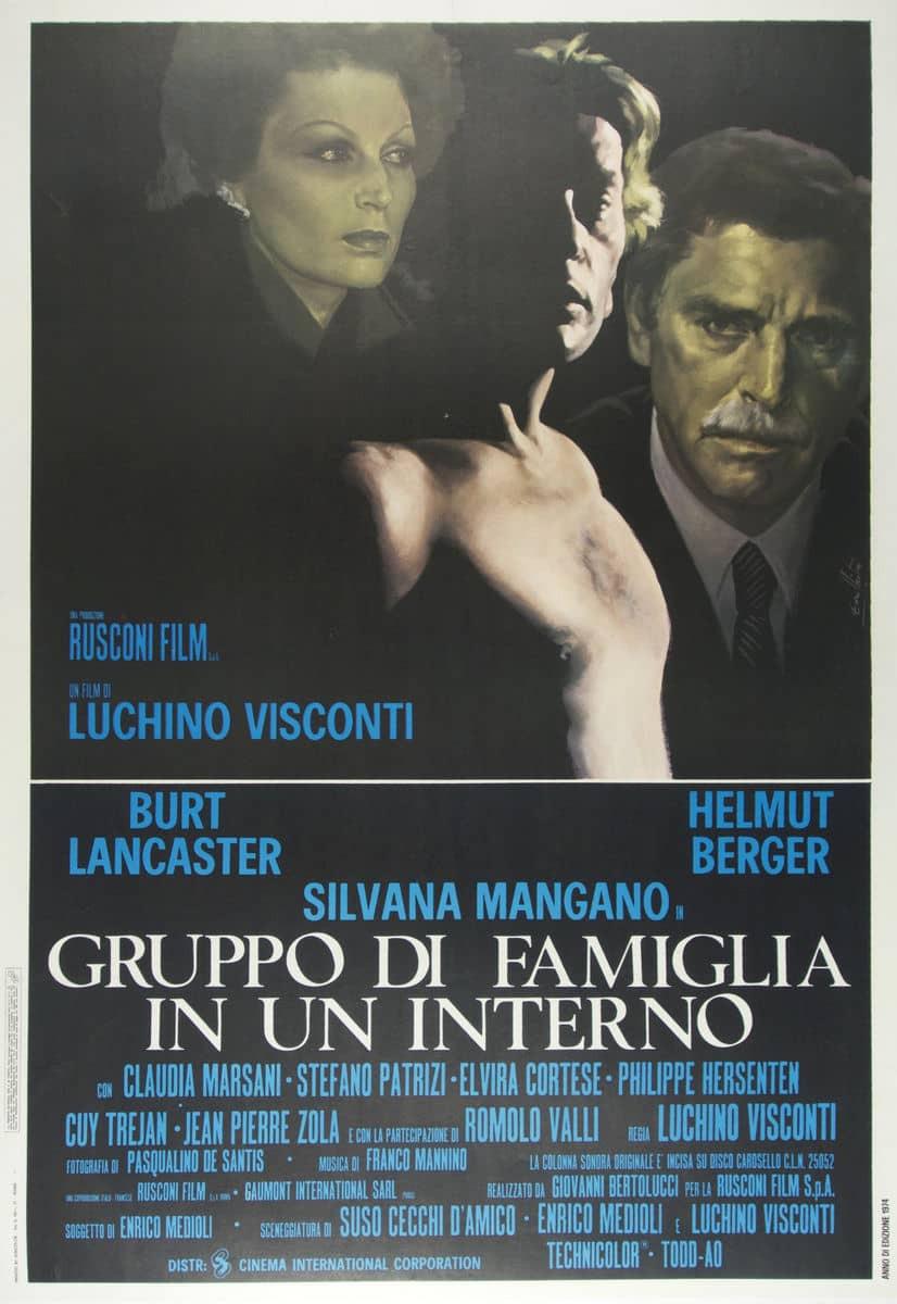 recenzie film Gruppo di famiglia in un interno, Luchino Visconti