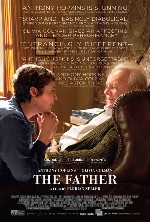 recenzie de film The Father, Anthony Hopkins