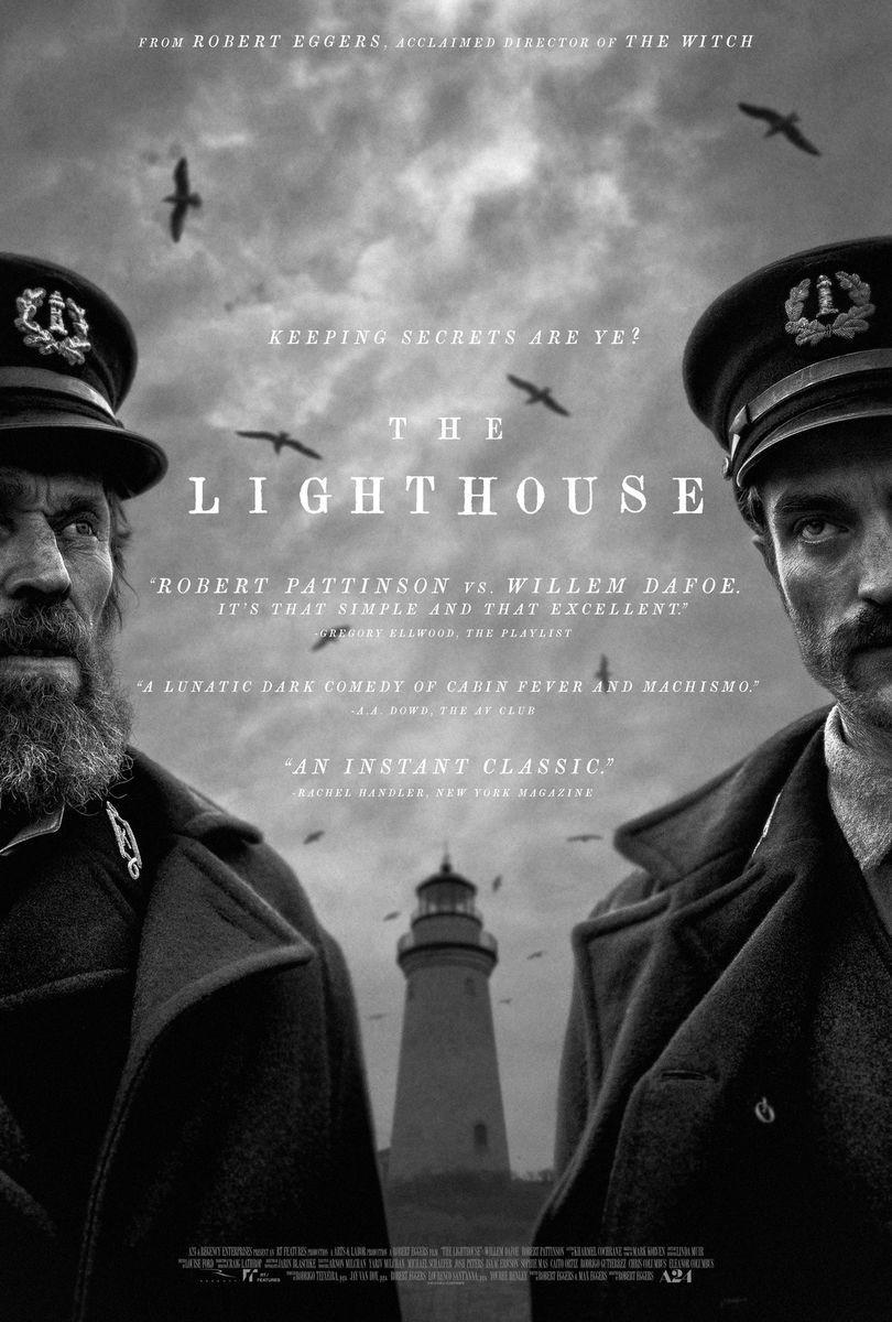 recenzie film The Lighthouse, Robert Eggers