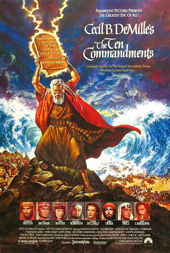 recenzie film The Ten Commandments Cecil DeMille