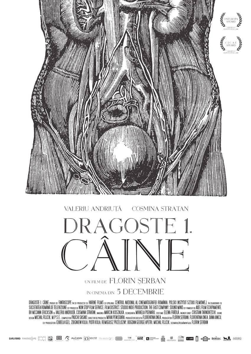 cronica film romanesc Dragoste 1: Câine
