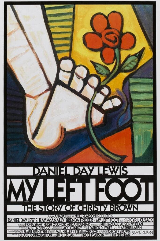 recenzie film My Left Foot, Jim Sheridan, Daniel Day-Lewis