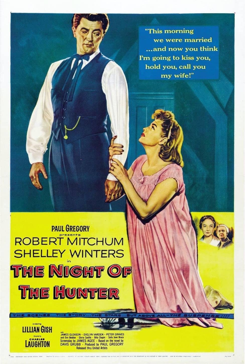 recenzie film The Night of the Hunter, Robert Mitchum